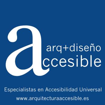 arquitectura y diseño accesible logotipo oficial