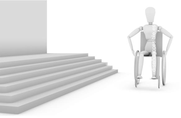 diseño accesible - falta de accesibilidad